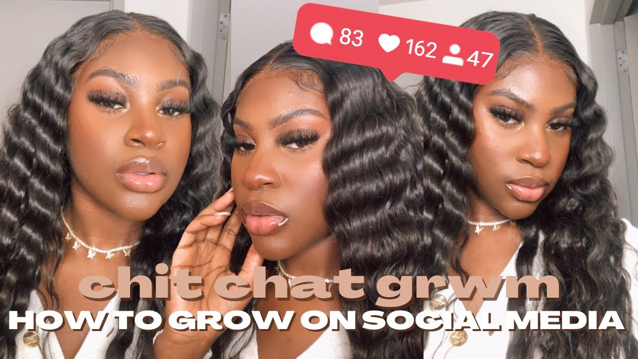 HOW TO GROW ON SOCIAL MEDIA IN 2021| Chit Chat GRWM |StateofDallas