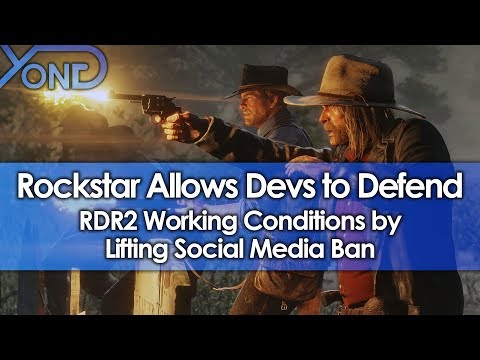 Rockstar Allows Devs to Defend RDR2 Working Conditions by Lifting Social Media Ban