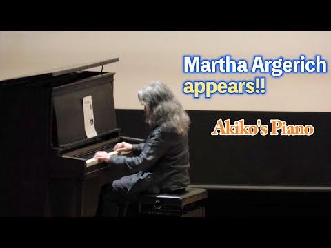 Martha Argerich appears!! Akiko's Piano Mp3