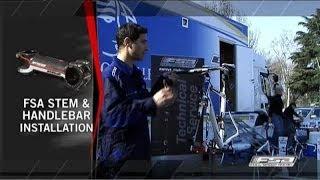 How to Install A Road Bike Handlebar And Stem - FSA Road