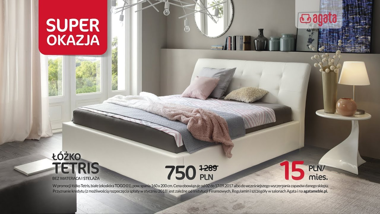 łóżko Tetris