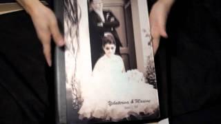 "Graphistudio 12x16"" wedding album on metallic paper and Crystal glance cover"