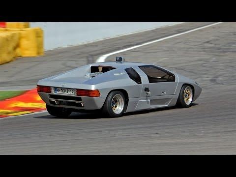 Mercedes Isdera Imperator 108i - Brutal Exhaust Sounds!