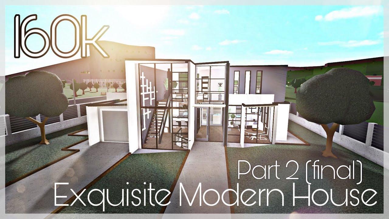 Exquisite Modern House FINISHED - 160k Bloxburg House ...