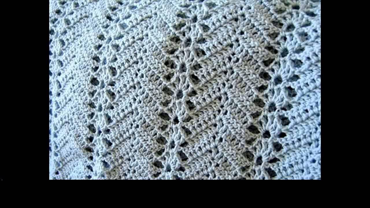 Crochet Ripple Afghan Pattern Youtube