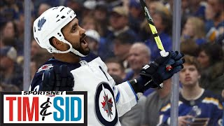 Trying To Make Sense Of The Dustin Byfuglien And Winnipeg Jets Situation   Tim and Sid