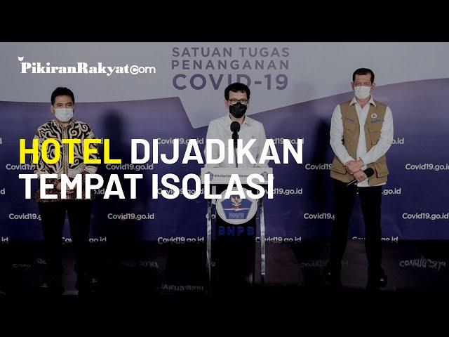 Kemenparekraf Beri Insentif Rp100 Miliar yang Relakan Hotelnya untuk Isolasi Pasien Covid-19