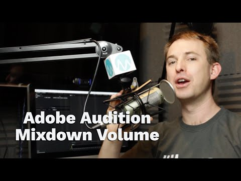 Why Adobe Audition Multitrack Mixdowns Reduce Audio Volume