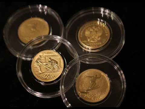 Bank of Russia unveils Sochi Olympic coins