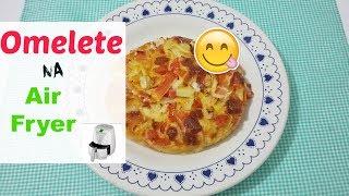 Omelete  Na Air Fryer