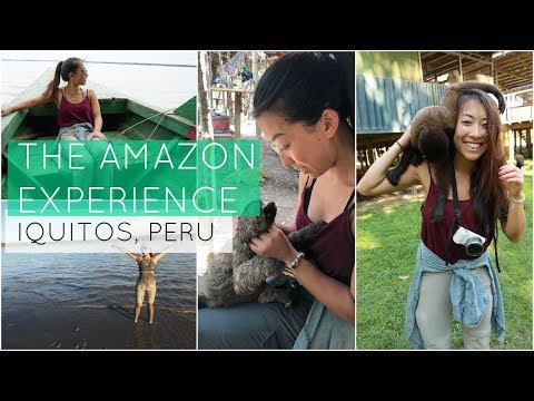 The Amazon Experience | Iquitos, Peru Travel Vlog Ep 6