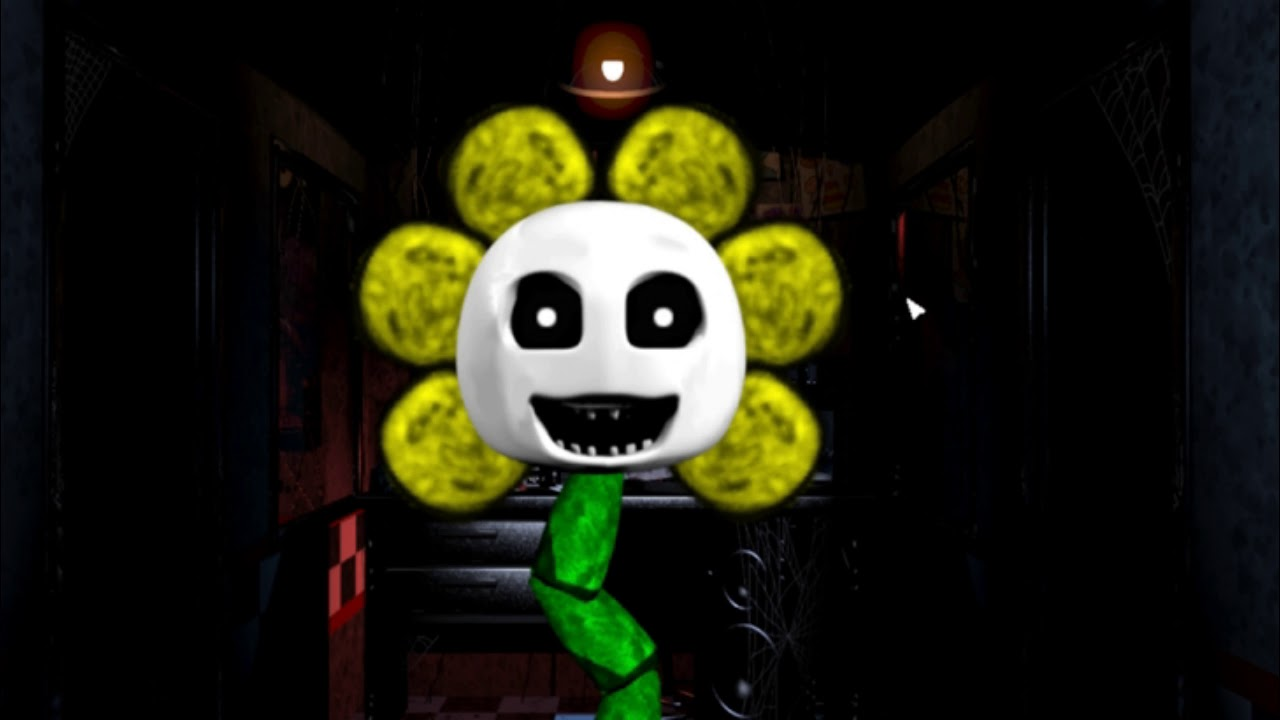 Five Nights with Flowey by techboy04gaming