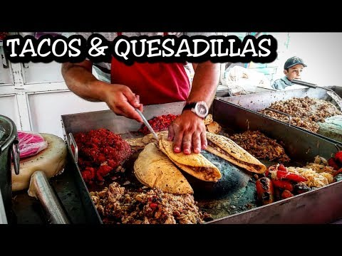 Ultimate Tacos And Quesadillas Deep in The Streets Of Mexico