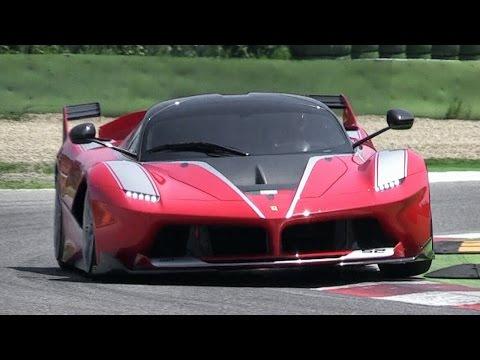 1050bhp Ferrari FXX K Sound In Action at Imola Circuit
