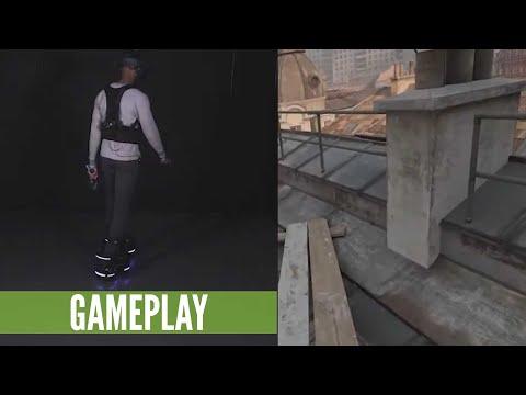 Half-Life: Alyx With Ekto One Robotic VR Boots