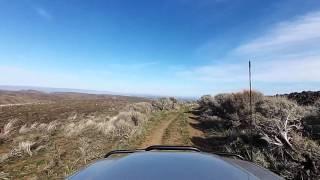 Colockum Ridge Perkins Road 2 April 2016