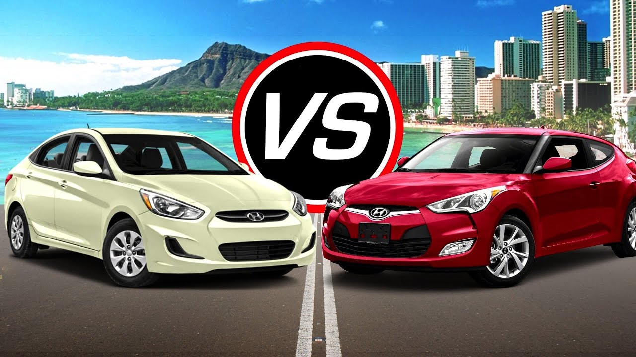 2016 hyundai accent se vs veloster spec comparison. Black Bedroom Furniture Sets. Home Design Ideas