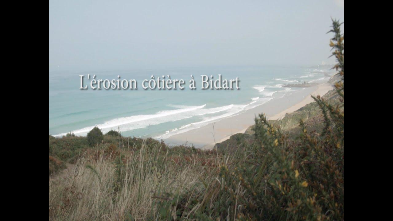 L'érosion côtière à Bidart