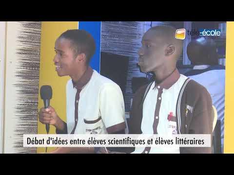 TELE-ECOLE: Débat d'idées entre Élèves scientifiques et littéraires LTSNT