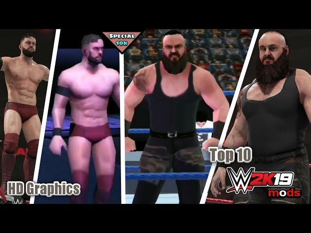 wwe 2k18 android mods