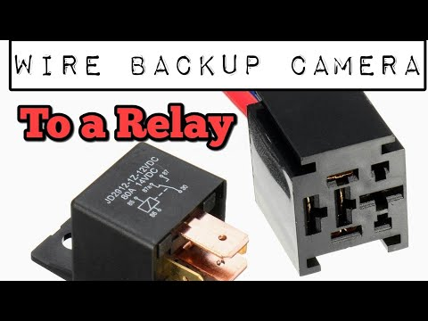 Wire Backup Camera to Relay (NO MORE FUZZY PICTURE) - YouTube