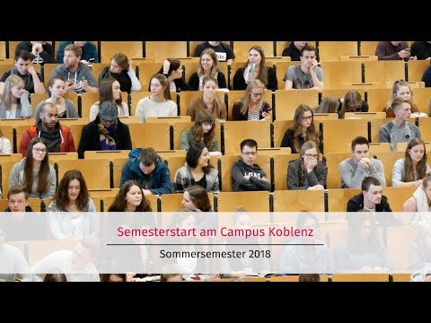 Start ins Sommersemester 2018 am Campus Koblenz
