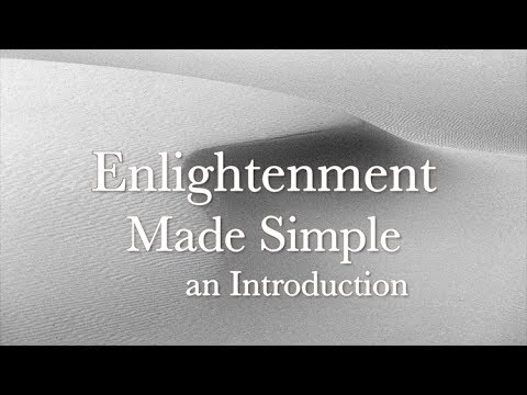 Enlightenment Made Simple - Intro