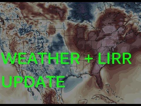 Weather & LIRR update 1.23.18