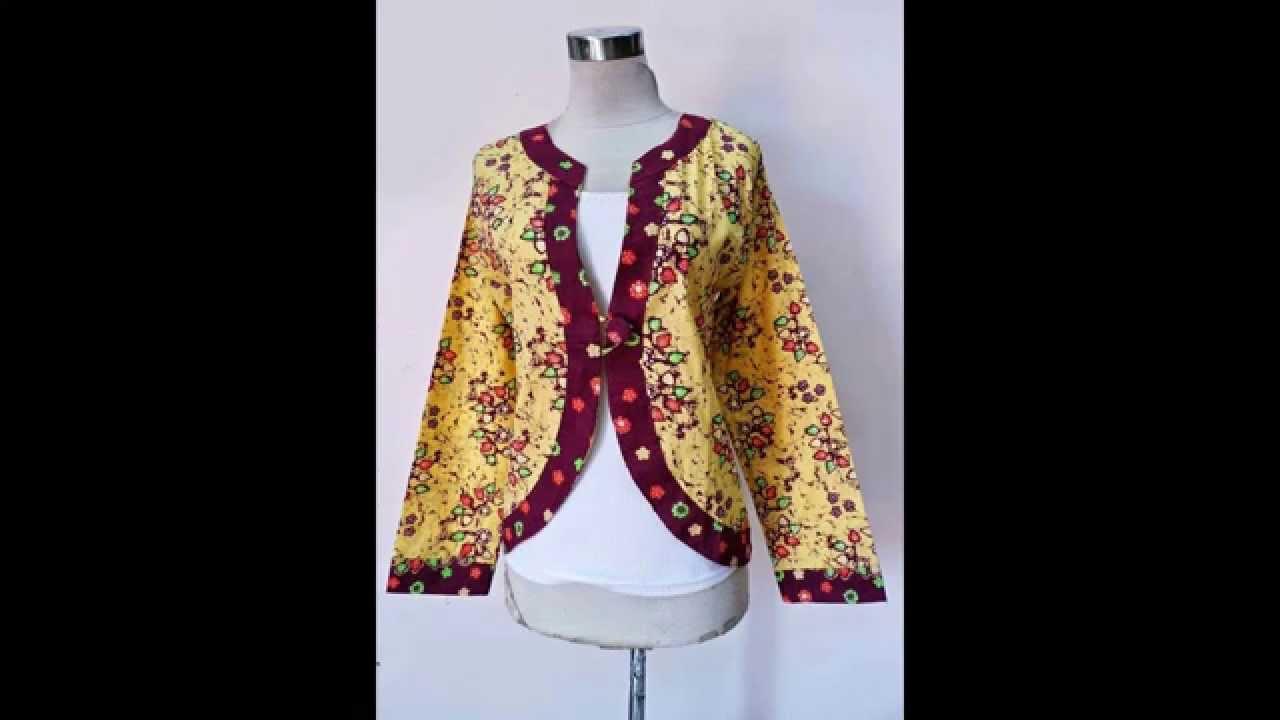 Baju Muslim Model Blazer Bolak Balik By Batiksolocantikcom Bsc