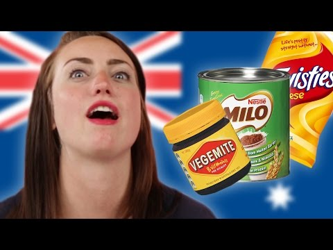 Stoned Americans Eat Australian Snacks