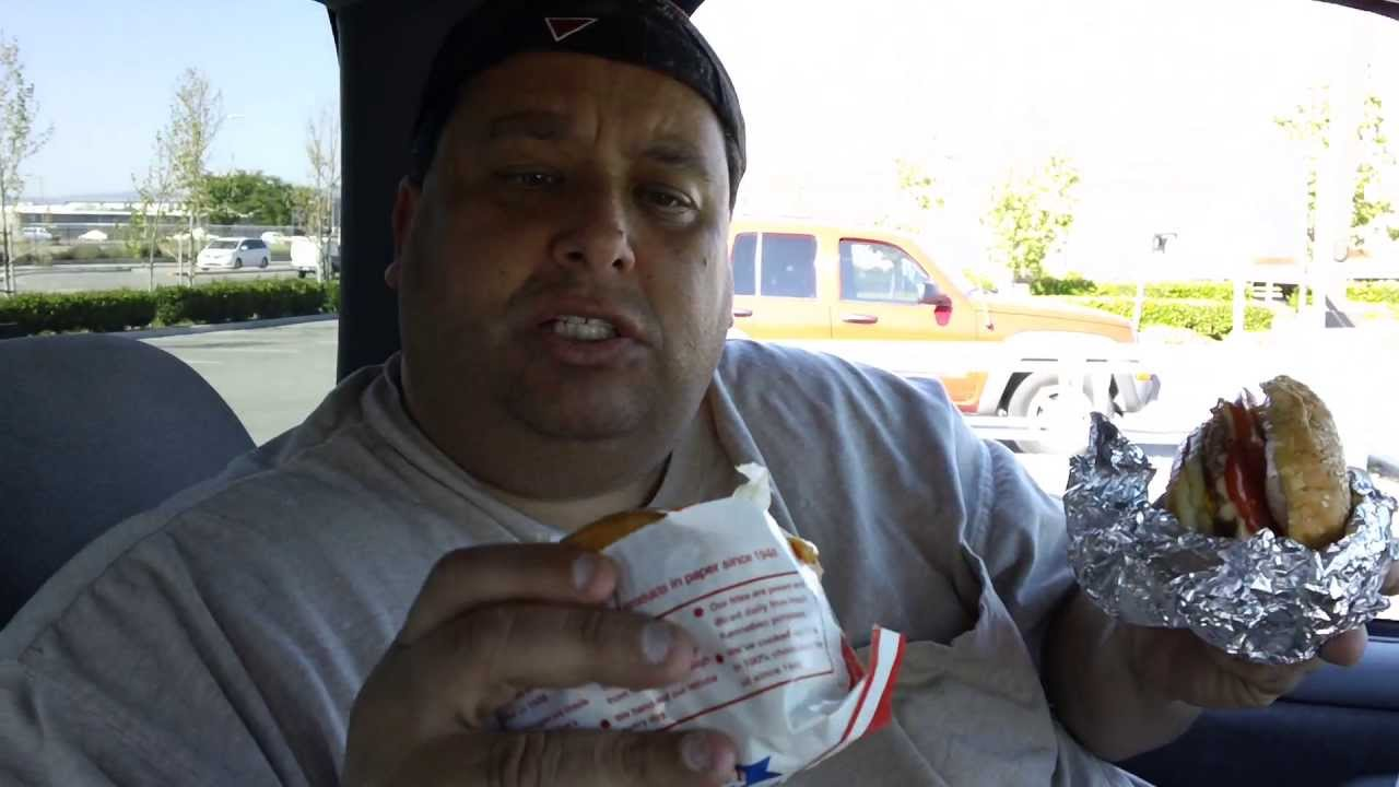 In N Out Burger Vs Five Guys Burgers Reviewed 10 Youtube