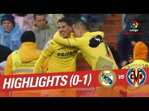 Resumen de Real Madrid vs Villarreal CF (0-1)