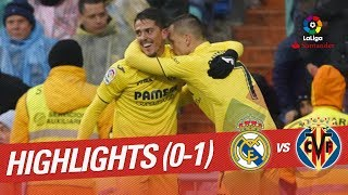 Resumen de Real Madrid vs Villarreal CF 0-1