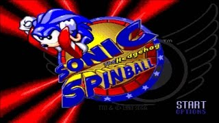 Sonic Spinball - Longplay/Walkthrough (No Damage)