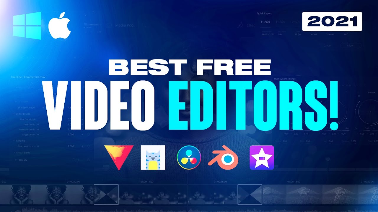 Download Top 5 Best FREE Video Editing Software 2021! (No Watermarks)