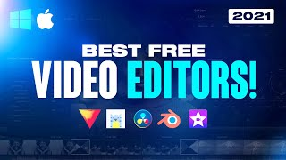 Top 5 Best FREE Video Editing Software 2021! (No Watermarks)