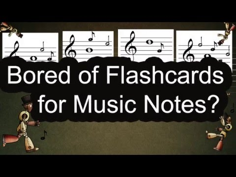 Bored of Flashcards for Music Notes? - Note Fighter