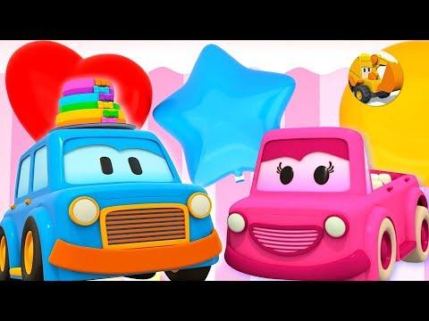 Colores para niños - El Cumpleaños de Mimi - Coches Inteligentes