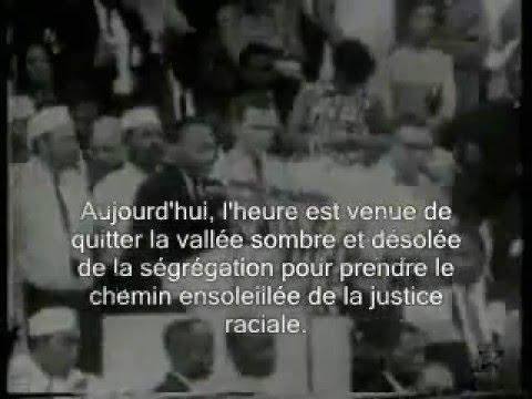MARTIN LUTHER KING I HAVE A DREAM EN FRANÇAIS