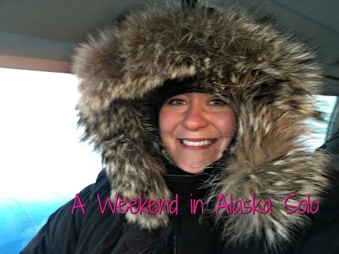 Fairbanks Alaska: My Solo Weekend Adventure ~ Chena Hot Springs, Northern Lights, Fairbanks Tour