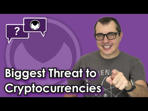Bitcoin Q&A: Biggest threat to cryptocurrencies
