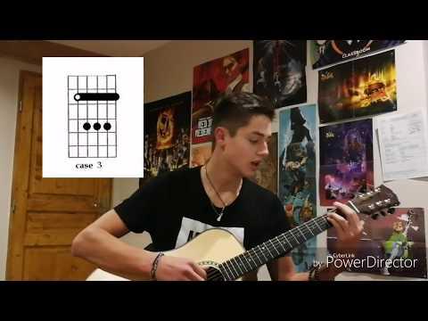 Tuto Basique - Orelsan // +TAB // Comment jouer Basique (Orelsan) à la guitare