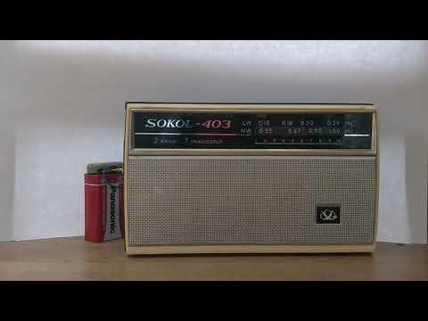 Sokol-403 mw/lw radio in 2018