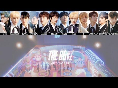 THE BOYZ - Giddy Up MV + Lyrics Color Coded HanRomEng
