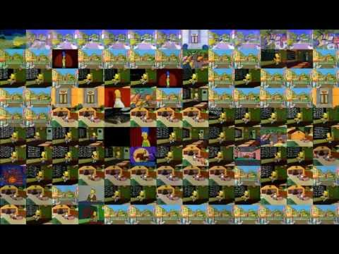 130 Simpsons Episodes At Once (starting At Title Sequence)