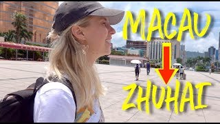 I walked from one city to another |  MACAU - ZHUHAI!