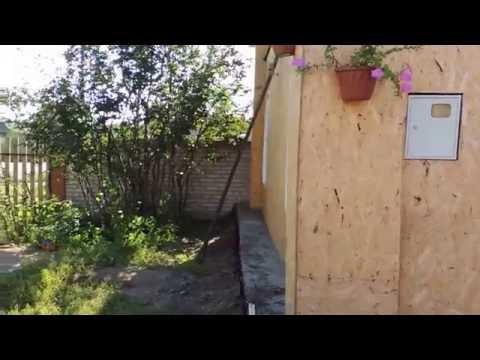 видео: Как ведет себя ОСП (osb) плита 9мм после 4 месяцев (довольно дождливых).