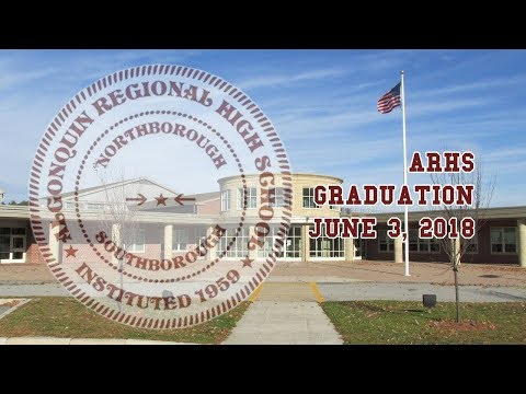 Algonquin Regional High School Graduation / June 3, 2018