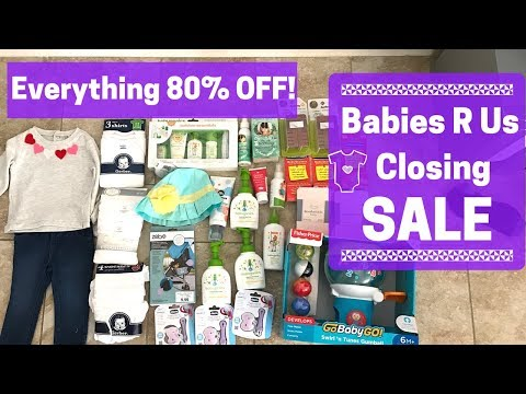 Babies R Us Closing Sale Info And HAUL