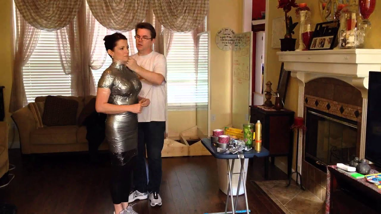 Maskin Tape My Wife, The Duct Tape Mummy - Youtube